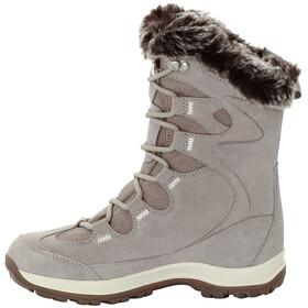 Jack Wolfskin Glacier Bay Texapore High Saappaat Naiset, light grey/champagne